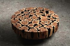 Wooden Sculptures by Jae-Hyo Lee