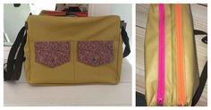 Besace Zip-Zip Large cousue par Pauline - Patron de couture Sacôtin