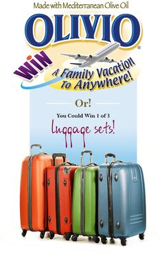 Win A Family Vacation! | Olivio