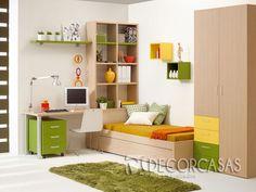 Decorar y ordenar esa es una de nuestra principal función,  closet, cama, escritorio y  librero todo en armonía