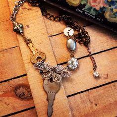 Vintage keys Key Jewelry, Vintage Keys, Charmed, Bracelets, Bracelet, Arm Bracelets, Bangle, Bangles, Anklets