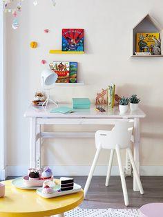 #Dormitorio con muebles a medida #infantil #escritorio