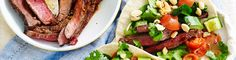 Thai Beef Wraps recipe from Simple & Fresh Dinner Box