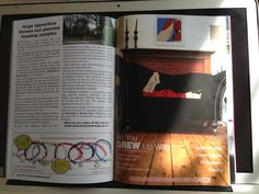 Recent magazine article on Killymoons and Deborah Azzopardi Art Upholstery www.killymoonliving.com