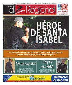 Periódico El Regional - Edición 841  11 de noviembre de 2015