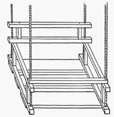 child's high low swing plans