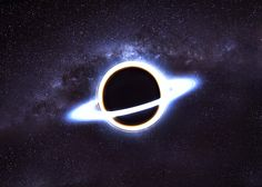 A white hole is a hypothetical feature of the universe. It is considered the opposite of a black hole. As black holes don't let anything escape from their surface, white holes are eruptions of matter and energy and nothing can get inside them.