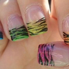 Something my sister would get not a big fan oh the fake nails but love the designs Nails  lt;3 | Nail fake nails designs