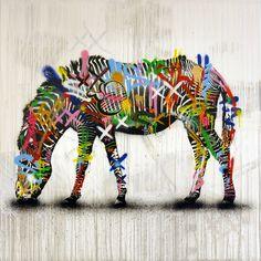 Martin Whatson Graffiti Art, Art Quotes, Tattoo Quotes, Amazing Street Art, Art Studies, Zebras, Urban Art, Cover Art, Yorkie