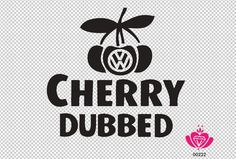 Nice Volkswagen 2017: VW Volkswagen Cherry Dubbed sticker  stickere vw Check more at http://carsboard.pro/2017/2017/04/01/volkswagen-2017-vw-volkswagen-cherry-dubbed-sticker-stickere-vw/