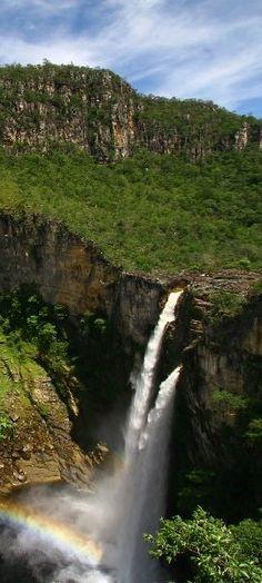Salto do Rio Preto em Alto Paraíso - Chapada dos Veadeiros - Brazil