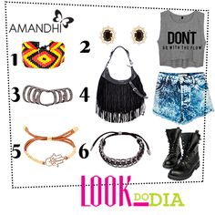 Look do Dia - Lollapalooza Inspired! | Amandhí | www.amandhi.com