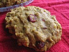 Healthy Breakfast Cookies.  I substitute applesauce for the oil and pumpkin pie filling for the baby food. Delish!!