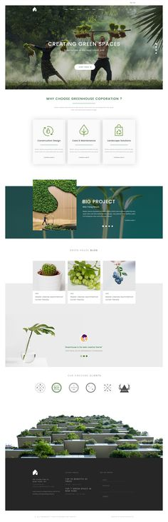 GreenHouse | is evaluated as my most unique creative PSD template with clean and modern design. There is no doubt that tuntunlovelove will make your work look more impressive and attractive to viewers. Designed on grid system, your site will look sharp on all screens. #business #clean #creative #customizable #flexible #green #minimal #modern #professional #responsive #service