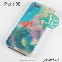 the little mermaid painting Phone case for iPhone 4/4s/5/5c/5s/6/6 plus