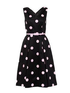 Girls Wanna Have Fun Dress | Black and Parfait Pink | Dress