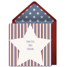 Patriotic+Star+Online+Invitation+from+Punchbowl.com(($))