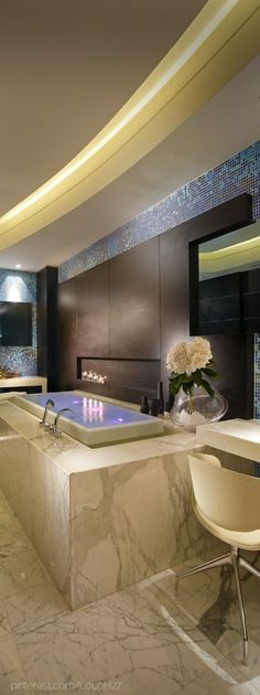 Luxury Bath  - Christina Khandan -  via Christina Khandan - Irvine California - www.IrvineHomeBlog.com