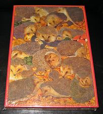 Hedgehogs Jigsaw Puzzle 1000 Piece Animal Awareness ~ RARE NEW & SEALED