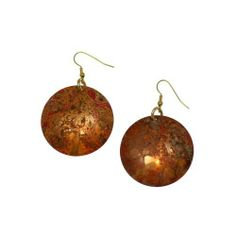 John S Brana Handmade Red Patinated Copper Disc Earrings John S Brana #7th #Wedding #Anniversary Gift Ideas http://www.amazon.com/dp/B0081SS0SM/ref=cm_sw_r_pi_dp_Nqvgrb0CJ0HHX