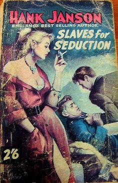 Hank Janson - Slaves For Seduction - 1960