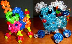 Beaded Poodle Pattern by Allegra