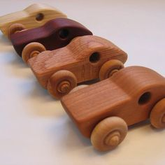 Handcrafted Wooden Race Car by PurcellToys on Etsy