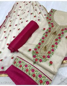 Partywear Modal Embroidered Dress Materials from House of Ethnicz Hand Work Embroidery, Embroidery Suits, Embroidery Fashion, Embroidery Patterns, Salwar Suits Party Wear, Anarkali Suits, Bride Reception Dresses, Punjabi Suits Designer Boutique, Classy Suits