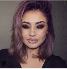 Jamie Genevieve Purple roots