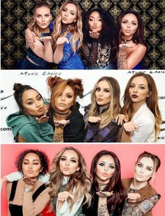 The cuttest pose of little mix Jesy Nelson, Perrie Edwards, Little Mix Funny, Little Mix Outfits, Litte Mix, Girl Bands, Mixers, Celebs, Celebrities
