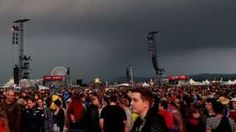 Image copyright                  EPA                  Image caption                     Two people reportedly needed resuscitating after lightning hit the Rock am Ring festival   At least 51 people were injured, eight seriously, when lightning struck at a rock festival in western Germany early on Saturday, police say. Organisers of the Rock am Ring festival, which is headlined by the Red Hot Chili Peppers, said lightning hit at 00:30 local time (22:30 GMT).