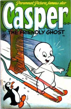 Casper the Friendly Ghost comic books Vintage Comic Books, Vintage Cartoon, Vintage Comics, Classic Comics, Classic Cartoons, Ghost Comic, Children's Comics, Casper The Friendly Ghost, Old Cartoons