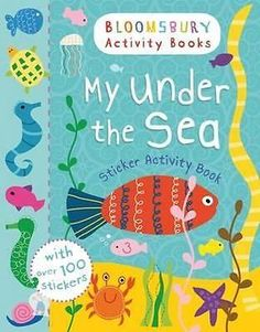 NEW My Under The Sea Sticker Activity Book By Bloomsbury Paperback Free Shipping