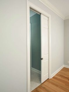 Small Bathroom Remodel Tip: Pocket Doors