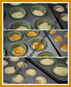 These Peach Jam Muffins are a great recipe using peach preserves that tast like a jelly donut! You can easily subsitute with other fruit jam or jelly.