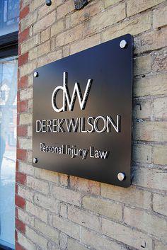 Derek Wilson - Outside Wall Sign www.signsden.com