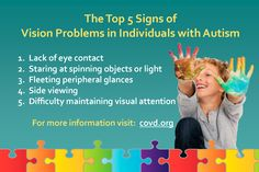 Helping Children with Autism Focus on the World Around Them – COVD Supports Autism Awareness Month - College of Optometrists in Vision Development Helping Children, Children With Autism, Autism Articles, Speech And Hearing, Autism Help, Autism Awareness Month, Vision Therapy, Pediatric Ot, Autism Spectrum Disorder