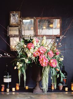 Read More: http://www.stylemepretty.com/2015/02/26/elegant-santa-barbara-restaurant-rehearsal-dinner/ #weddingofficiant #santabarbaraweddings