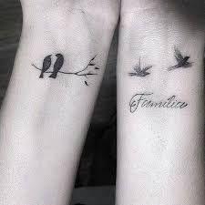 Résultats de recherche d'images pour « dois passaros voando tattoo »