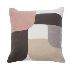 Moma Pink & Grey Cushion | Meadows & Byrne