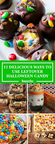 Here are the best ways to use leftover Halloween candy. Use these fun and easy recipes to turn that candy into delicious treats and snacks like Snickers popcorn, Candy Corn Fudge, No-Bake Reese's Pieces Cheesecake, and Caramel Candy Cheesecake Dip. Candy Recipes, Cookie Recipes, Dessert Recipes, Dessert Ideas, Snickers Recipe, Snickers Popcorn, Yummy Treats, Delicious Desserts, Sweet Treats