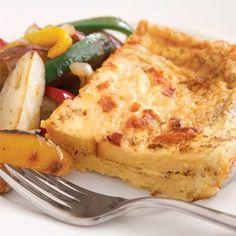Bacon and Cheese Strata  - Delish.com