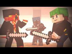BED WARS : FULL Fight Animation Ft. DanTDM , PrestonPlays, PopularMMOS (Minecraft Animation) - YouTube Funny Minecraft Videos, Minecraft Stuff, Animation, War, Youtube, Animation Movies, Anime, Youtubers, Animated Cartoons