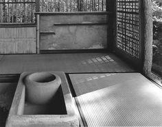 Ishimoto Yasuhiro, Interior of the Shokatei Pavilion Preparation Space for the Tea Ceremony