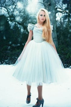 Alice Wedding Dress from Beyond Burlesque... Not sure about for wedding but love the huge skirt