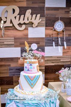 Boho cake from a Boh