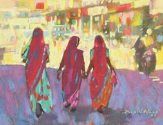 Achieve brilliant color in pastel with tips from this pastel artist. #pastelart #pastelpainting
