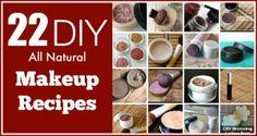 22 DIY Makeup Recipes
