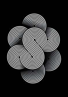 liquid gold / ripples / scottish celtic ref Tangled by Santi Rey Illustrations, Graphic Illustration, Graphic Art, Design Graphique, Art Graphique, Op Art, Design Elements, Design Art, Material Didático