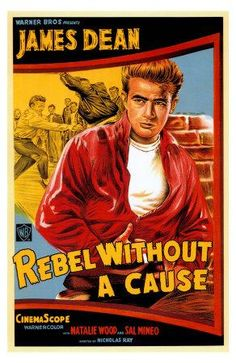 Poster : Rebel Without A Cause starring James Dean, Natalie Wood & Sal Mineo Old Movie Posters, Classic Movie Posters, Cinema Posters, Movie Poster Art, Poster S, Classic Films, Vintage Posters, Natalie Wood, Old Movies